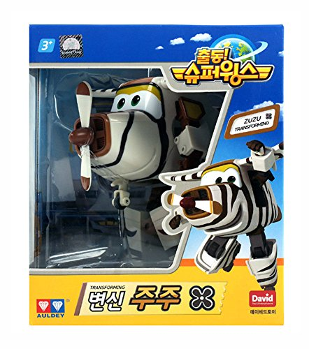 ZUZU (BELLO) – Super Wings Transforming planes series animation Character Ship from Korea