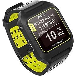 Avid Fit Runner 201 Bluetooth GPS Running Watch - Black
