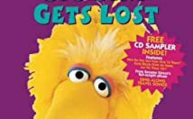 Amazon Sesame Street Big Bird Gets Lost Vhs