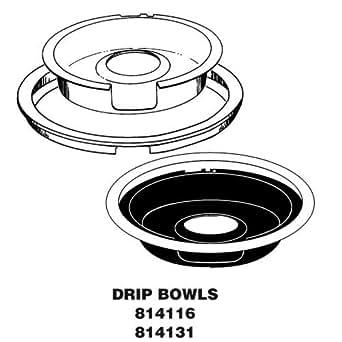 Amazon.com: 814116 Whirlpool DRIP PAN & RING KIT: Appliances
