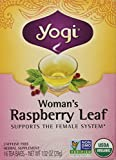 1 X Woman's Raspberry Leaf Tea by Yogi Teas 16 Tea Bag