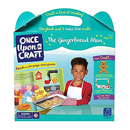 Educational Insights Once Upon a Craft - The Gingerbread Man Educational Craft