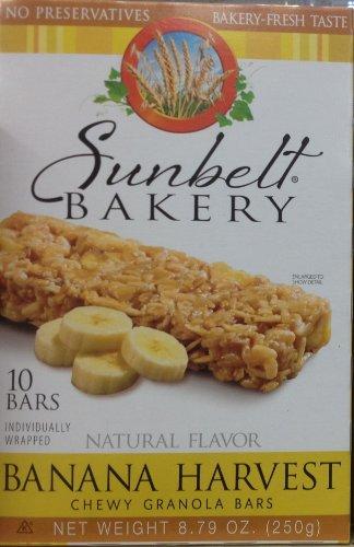 UPC 24300031014 Sunbelt Bakery Banana Harvest Chewy