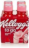 Kellogg's Breakfast To Go Shake, Strawberry (4 Count, 10 Fl Oz Each)