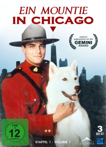 Ein Mountie in Chicago - Staffel 1.1 (3 Disc Set)