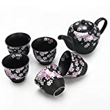 Japanese Handcrafted Cherry Blossom 6pc Tea Gift Set
