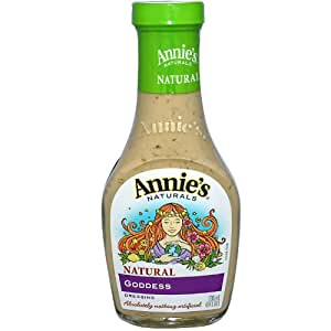 Amazoncom Annies Naturals Goddess Dressing 8 oz Pack
