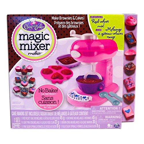 Magic Mixer Maker Pink Red Velvet Cake Brownie