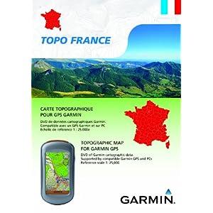 Garmin Topo France Cartes et accessoires navigateur route planner vélo