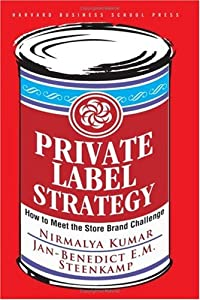 "Cover of ""Private Label Strategy: How to ..."