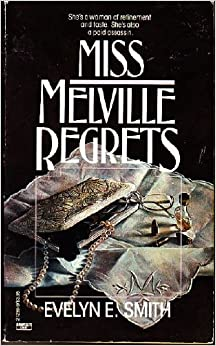 book cover for Miss Melville Regrets