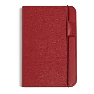 "Kindle Leather Cover, Burgundy Red, Updated Design (Fits 6"" Display, Latest Generation Kindle)"