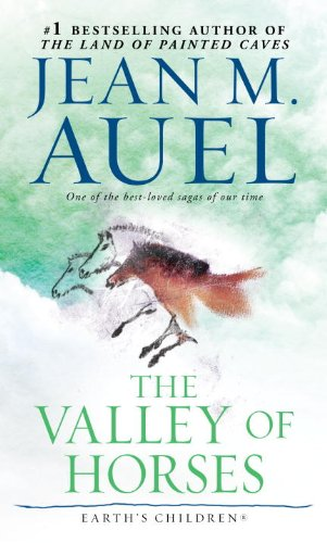 Cover of The Valley of Horses by Jean M. Auel