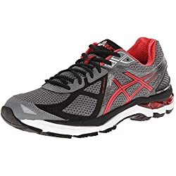 ASICS Men's Gt-2000 3 Running Shoe,Carbon/Red Pepper/Black,11 M US