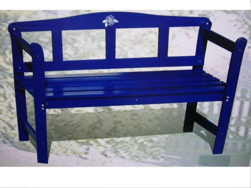 blaue holzbank sitzbank gartenbank bank parkbank gartenb nke online shop. Black Bedroom Furniture Sets. Home Design Ideas