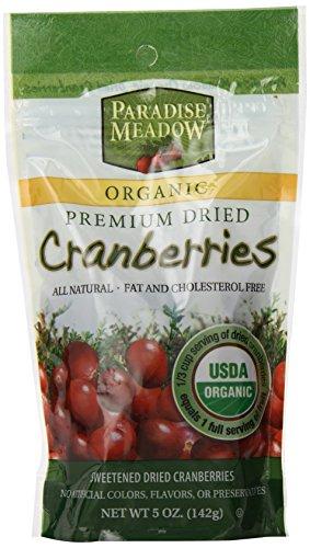 Paradise Meadow Organic Premium Dried Cranberries 5