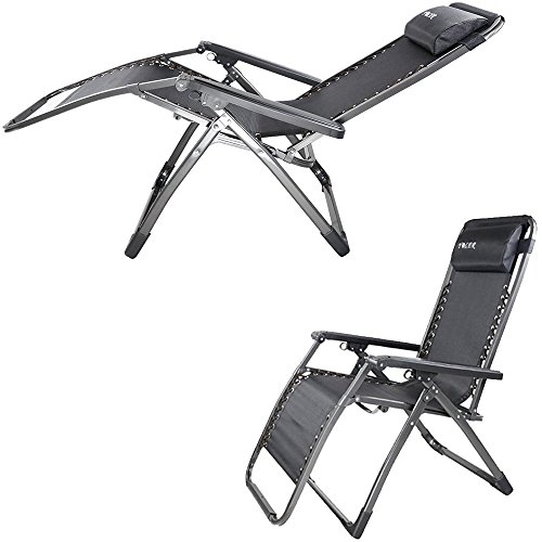 zero gravity patio chair xl shower tub transfer bench lawn garden preview yoler 1 lounge mode portable recliner with removable pillow sturdy steels bearing 440lbs breathable durable textilene folding
