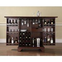 Offer LaFayette Expandable Home Bar Liquor Cabinet ...