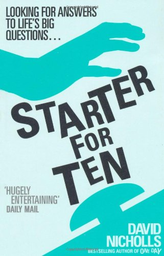 Image result for starter for 10 book