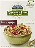 Cascadian Farm Cereal Organic Cereal, Hearty Morning Fiber, 14.6 Ounce