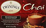 Twinings Decaf Chai, 1.41 Ounce