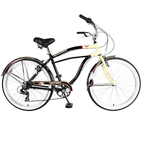 Victory Touring 726M Cruiser Bike, 26 inch Wheels, 19 inch