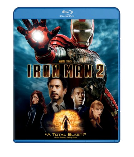 Iron Man 2 (Single-Disc Edition) [Blu-ray]-Paramount