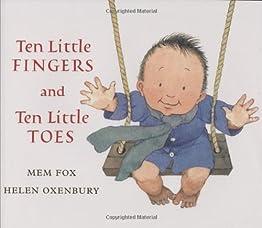 """Cover of """"Ten Little Fingers and Ten Litt..."""