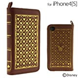 ディズニーキャラクター/Old Book Case for iPhone4/4s(モノグラム)