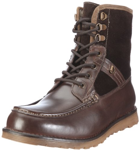 Mexx Bond 3c High Lace F9RE0106, Herren Stiefel, Braun (DARK BROWN 249), EU 43