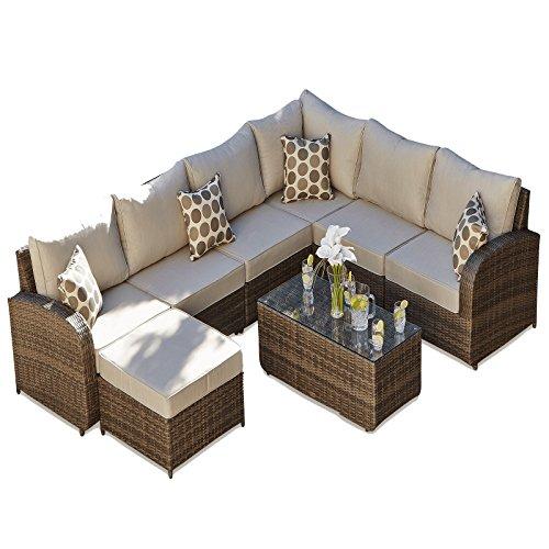 maze rattan natural milan corner sofa set green cushions ashley furniture watson table best price for outdoor weave modular buy cheap garden conservatory patio ledbury 2
