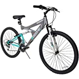 "Ozone 500 Women's Ultra Shock 26"" 21-Speed Dual-Suspension Mountain Bicycle"