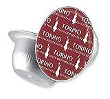 Bialetti 06760 Mini Express Espresso Capsules, Torino, Burgundy, 16-Pack
