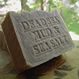 Natural Dead Sea Mud Soap-Shea Butter and Dead Sea Salt (Exfoliate) Handmade Artisan (Unscented) Great For Eczema, Acne!