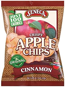 Amazoncom Seneca Cinnamon Apple Chips 7Ounce Bags