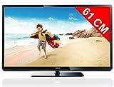 Philips 24PFL3507H/12 61 cm (24 Zoll) LED-Backlight-Fernseher, Energieeffizienzklasse A (Full-HD, DVB-T/C, CI+, Smart TV (Youtube und DLNA)) schwarz