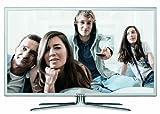 Samsung UE37D6510WSXZG 94 cm (37 Zoll) 3D-LED-Backlight-Fernseher, Energieeffizienzklasse B (Full HD, 3D, 200Hz CMR, DVB-T/C/S2, CI+) weiß