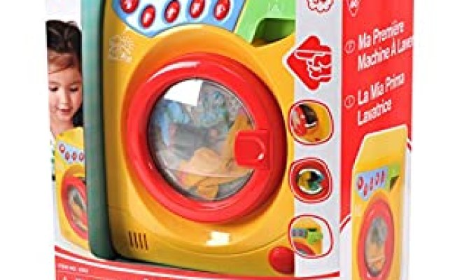 Amazon Playgo Toys My First Washing Machine Pink