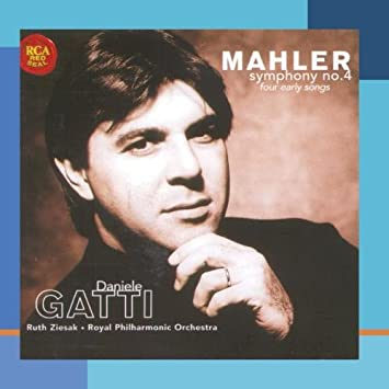 Cover of Daniele Gatti's recording of Mahler 4 with the Royal Philharmonic Orchestra.