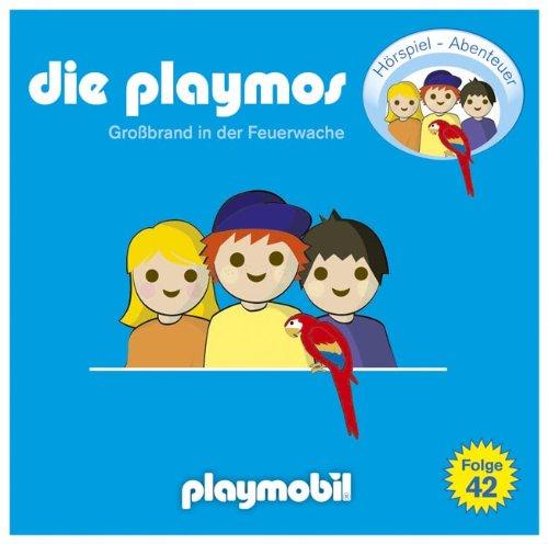 Die Playmos (42) Großbrand in der Feuerwache (Lübbe Audio)