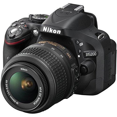 Nikon D5200 24.1 MP DSLR Camera with 18-55mm VR Lens Kit