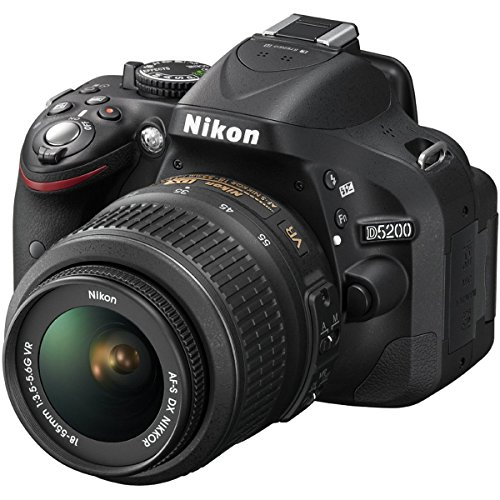 Nikon D5200 24.1 MP DSLR Camera with 18-55mm VR Lens Kit