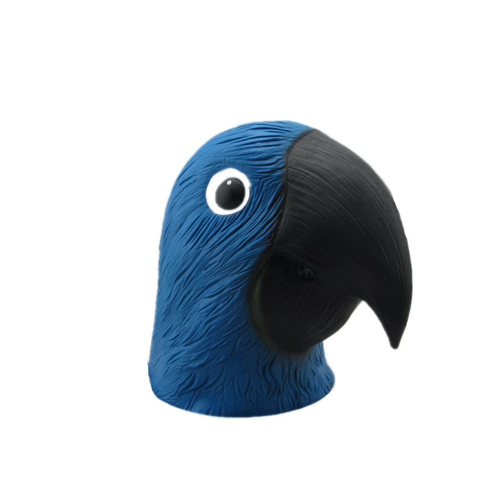 Parrot mask for costume