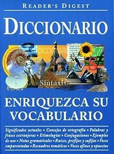 """Cover of """"Diccionario: Enriquezca su Voca..."""