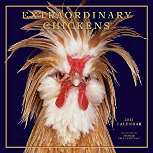 Extraordinary Chickens 2012 Wall Calendar