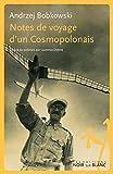 Notes de voyage d'un Cosmopolonais