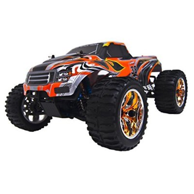 ALEKO-RCC94111PROORANGE-Electric-Powered-Off-Road-Monster-Truck-110-Scale