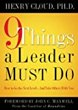 9 THINGS A LEADER MUST DO HB