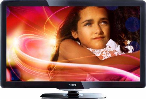 Philips 32PFL3606H/12 81 cm (32 Zoll) LCD-Fernseher, Energieeffizienzklasse C (Full-HD, 50Hz, DVB-T/-C) hochglanz schwarz