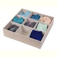 Amazon.com: 9 Compartment Sock Drawer Organizer: Home ...